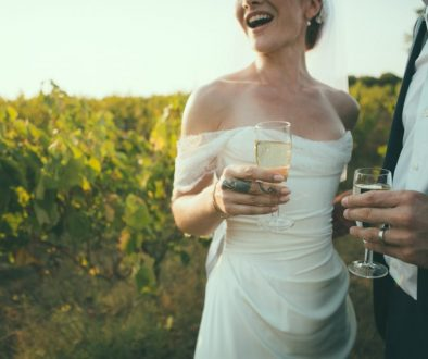 Countryside glamour wedding at the Greek chateaux in Corfu