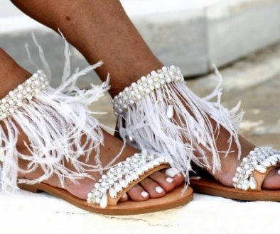 24 Summer Beach Wedding Sandals from Greece that You Can Find on Etsy