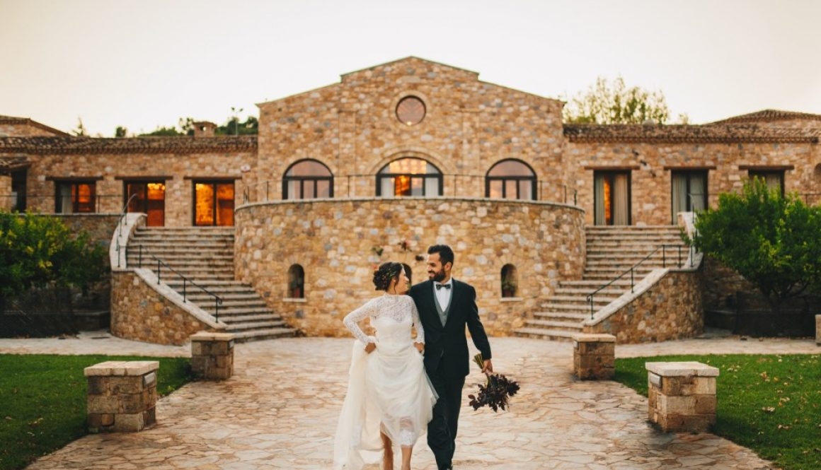 Luxury Autumn Manor Wedding from Athenian Countryside