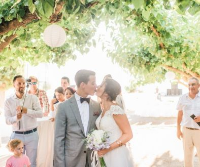 Colorful Country Wedding in the Greek Village of Elateia