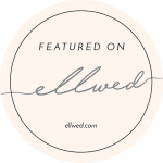 Ellwed featured on badge in pink
