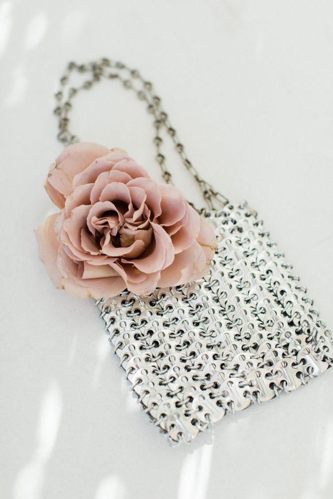 Love Story in Mykonos brides purse accessories