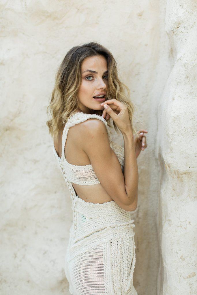 Bride Utopian Love Story in Mykonos