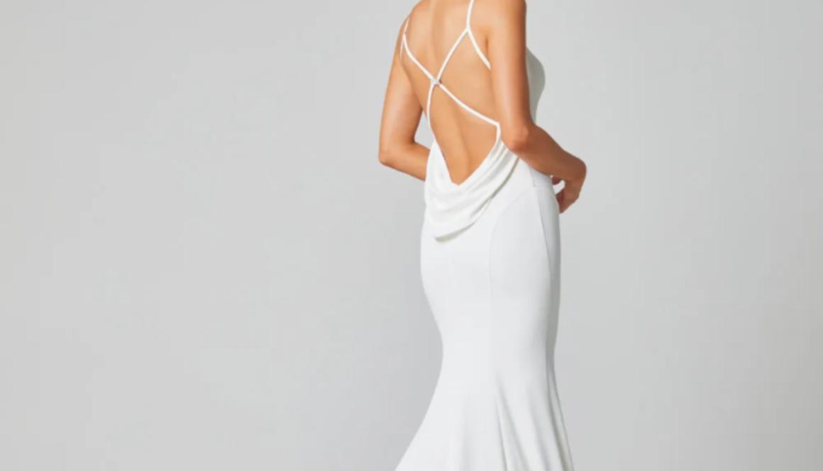 Alice stylish Wedding dress by Brides Only on Ellwed on a bride