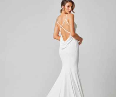 Alice stylish Wedding dress by Brides Only on Ellwed on a bride