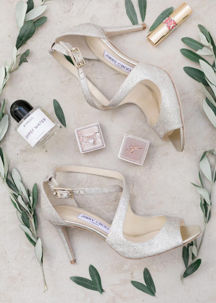 Brides Jimmy Choo Shoes for wedding week