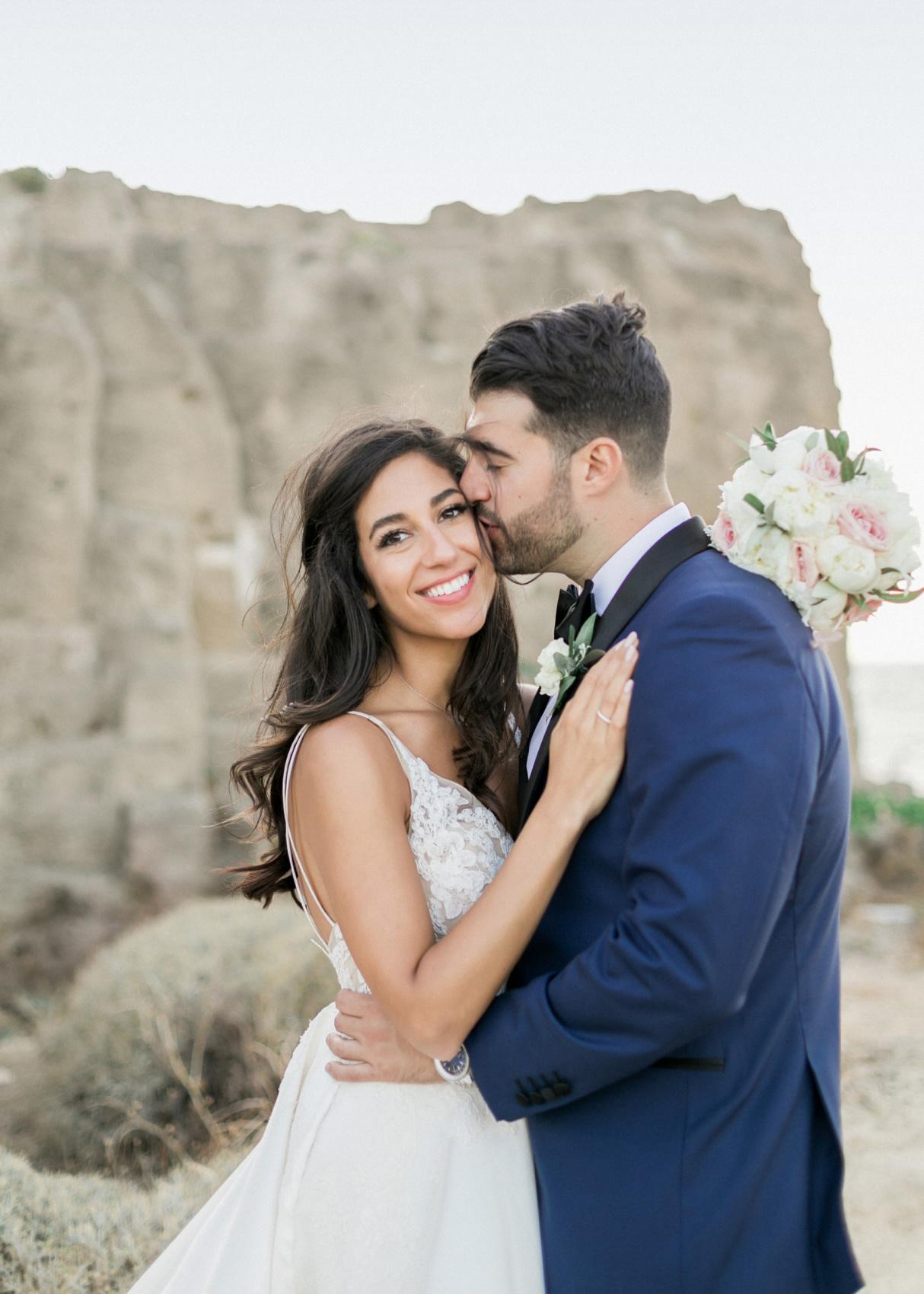 Wedding Week in Greece bride and groom on Skyros