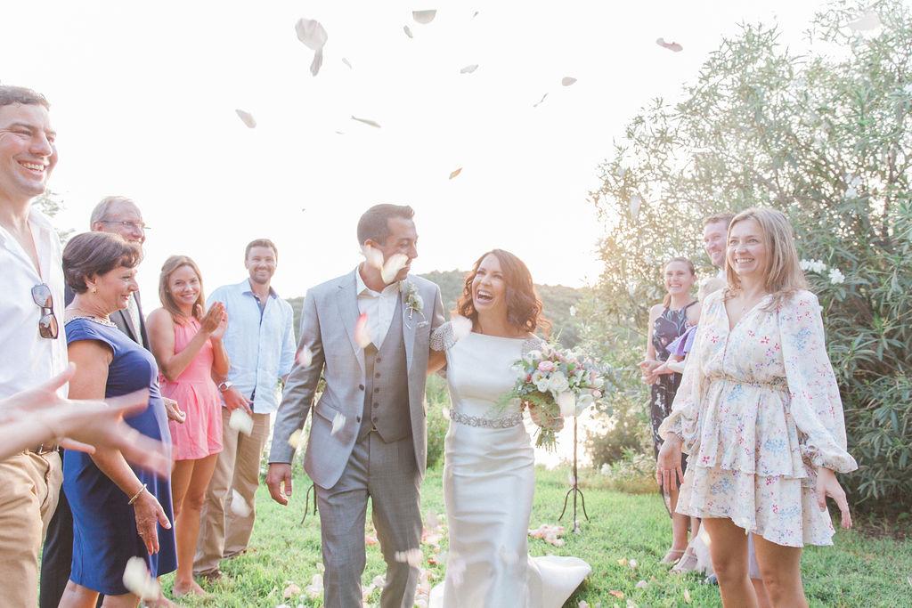 Dreamy Micro Destination Wedding in Sivota