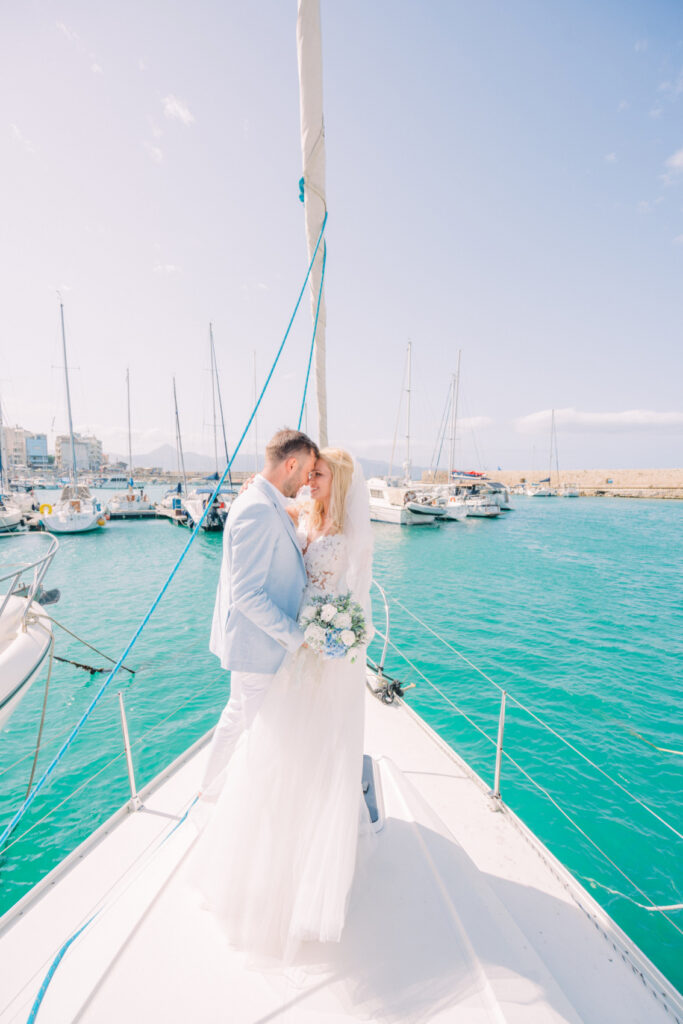 Couple Instagram Influencer Gets Married in Greece on a yacht