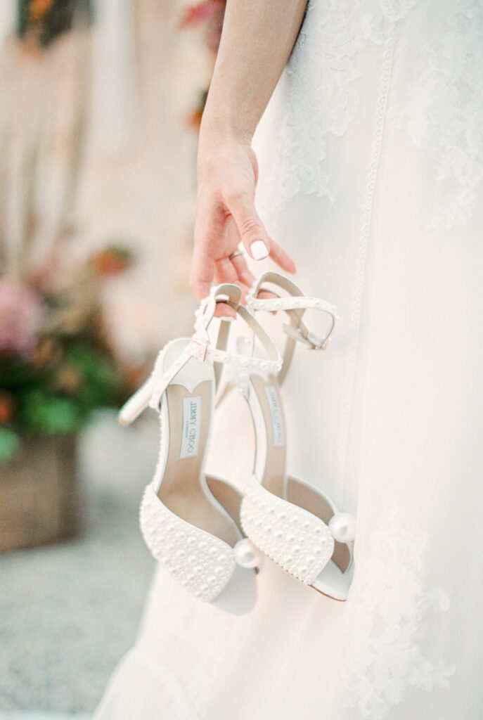Getting Married in Greece in 2021/22 wedding shoes