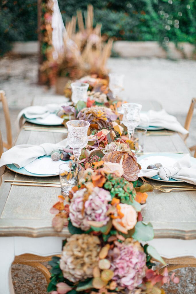 Getting Married in Greece in 2021/22 table closeup