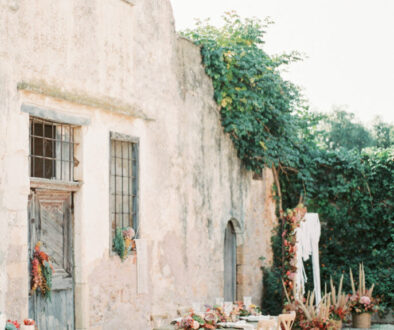 Luxe End of Summer Wedding Inspiration from Crete