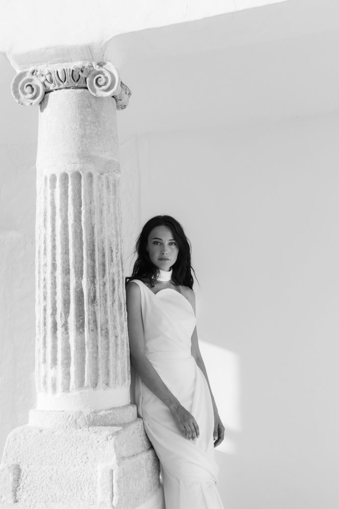 stylish eco-conscious wedding Bride